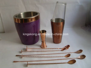 Stainless Steel Plate Copper Bar Ice Buckets pictures & photos