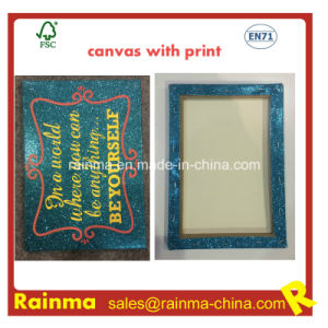 Stretched Canvas with Nice Print pictures & photos