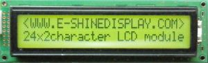 LCD Modules STN LCD Character COB EC2402A0 pictures & photos