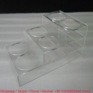 Hot Selling Acrylic Wine Rack pictures & photos