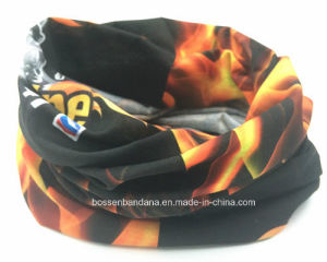 Factory Produce Custom Logo Printing Polyester Seamless Tubular Headgear pictures & photos