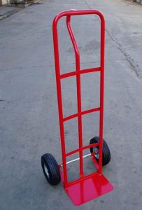 Two Wheel Hand Trucks with Air Wheel (HT1805) pictures & photos