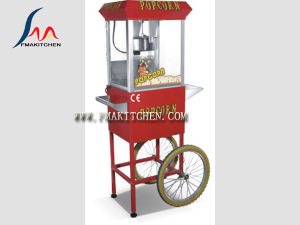 Popcorn Machine with Cart/Popper/Commercial Electric Popcorn Machine/Popper Maker, 8 Ounce pictures & photos