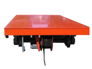 Kpj Series Electric Transfer Cart on Rails pictures & photos