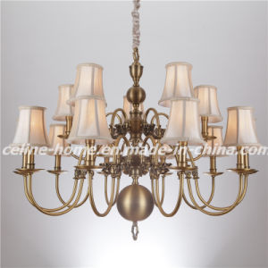 Traditional Chandelier Lamp Pendant Lighting with 15 LED Bulb (SL2078-10+5) pictures & photos