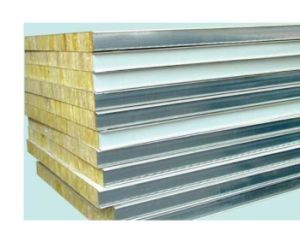 Insulation Prepainted Rockwool Sandwich Panel for Building pictures & photos