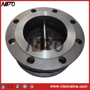 Flanged Double-Disc Swing Check Valve (H46) pictures & photos