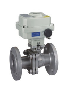 Hl-Zxex Flange Ball Valve with Explosion Proof pictures & photos