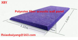 Polyester Fiber Wall Panel Acoustic Panel Ceiling Panel Detective Panel pictures & photos