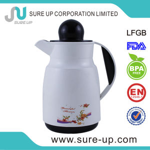 Flower Panting Arabic Plastic Flask Coffee Tea Jug (JGHM) pictures & photos