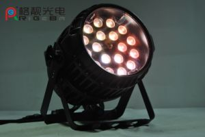 Portable LED Stage Lighting 18X10W RGBW 4in1 Zoom LED PAR Light pictures & photos