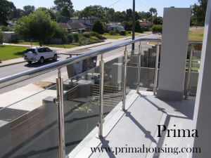 Glass Railing (PR-05) pictures & photos