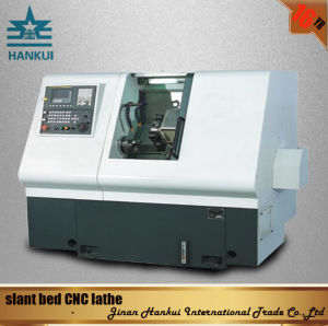 Automatic Lubrication Slant Bed CNC Lathe (CK-63L) pictures & photos