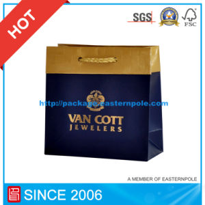 Hot Stamping Paper Shopping Bag/ Paper Gift Bag/ Paper Bag