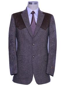 Men′s Wool Leisure Suit (PL004)