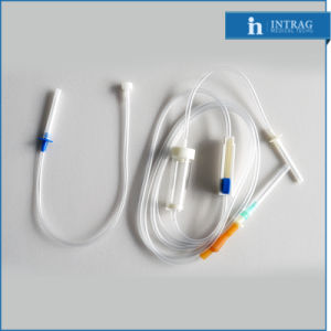 Disposable Sterile Infusion Set with Thin Latex Connector pictures & photos