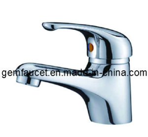 Traditional Brass Single Hole Single Handle Basin Mixer Tap in Chrome (33201)
