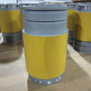 CNC Turning Machining Painted Parts for Heavy Machinery Shaft Roller pictures & photos
