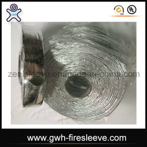 High Quality Aluminum Foil Fiberglass Cloth Sleeving pictures & photos