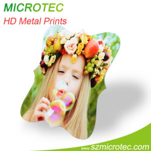 Printing Photos on Metal Heat Transfer Metal Board pictures & photos