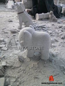Little Animal Elephant Granite Stone Statue/Sculpture pictures & photos