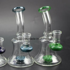 9inch Glass Water Pipe with Small Smoking Water Pipe pictures & photos