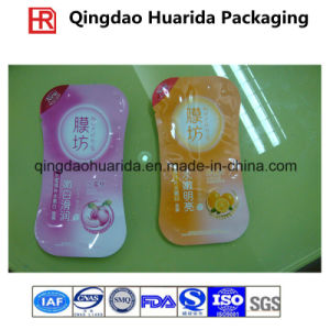 Custom Plastic Facial Mask Moisture Proof Packaging Bag, Mask Pouch pictures & photos