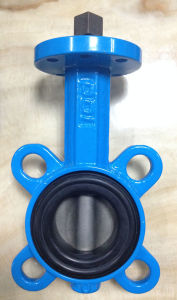 Cast Steel Butterfly Valve with EPDM Seat pictures & photos