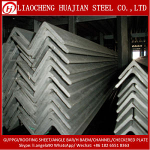 Hot Selling A36 Hot Steel Angle Iron Bar for Construction pictures & photos