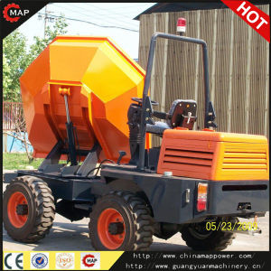 3.0ton Front Wheeled Site Dumper with 180 Degree Swiving Bucket pictures & photos