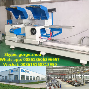 Double Head Aluminum Windows and Doors Making Machine pictures & photos