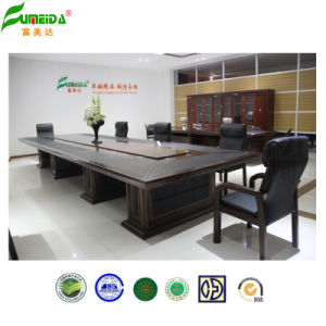 MDF Woode Veneer Noble Large Conference Table pictures & photos