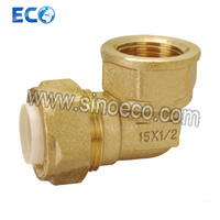 Brass 90 Degree Female Elbow Pipe Fittings for PPR pictures & photos
