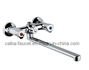 New Design Double Handle Kitchen Faucet pictures & photos