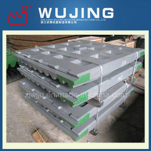 Wujing Wear Resistant Part Professional Design High Manganese Steel Cast Jaw Crusher Steel Plate