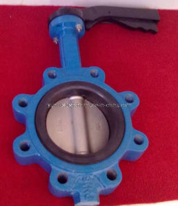 Lug Type NBR Seat Gear Stainless Steel Disc Wafer Butterfly Valve pictures & photos