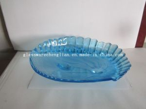 Solid Color Shell-Shape Glass Plate (P-029) pictures & photos