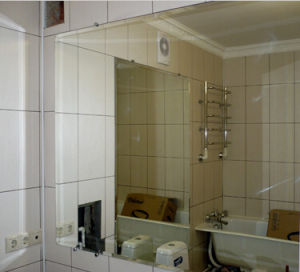 Frameless Rectangle Shaped Bathroom Mirror pictures & photos