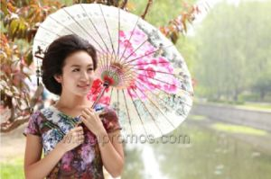 Wedding Decoration Chinese Traditional Oiled Paper Umbrella pictures & photos