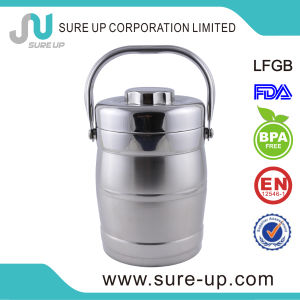 Thermos Vacuum Stainless Steel Lunch Box (CSUS) pictures & photos