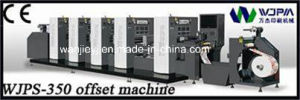 High Speed Cardboard Offset Printing Machine (WJPS-350) pictures & photos