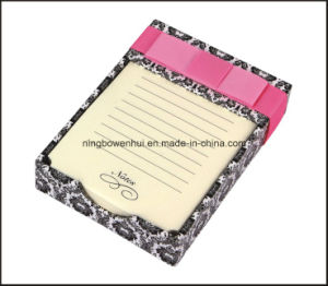 Hot Selling Colorful Note Pad/Memo Pad with Paper Tray pictures & photos