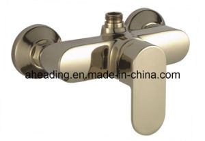 Gold Painted Shower Mixer (SW-8859J) pictures & photos