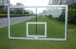 Contender Gymnasium Clear Glass Basketball Backboard pictures & photos