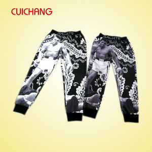 Sublimation Printing Men Custom Jogger Pants pictures & photos