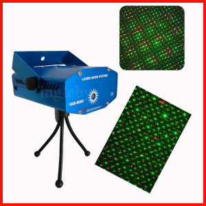 Red and Green Mini Laser Light Show with Auto Working