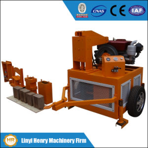 Hr1-20 Mobile Clay Brick Making Machine Price in Kenya pictures & photos