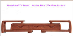 Ash Wood Modern TV Cabinet with Drawers pictures & photos