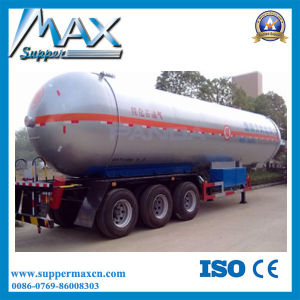 Tri-Axle Widely Used LPG Tanker Gas Tank Semi Trailer for Sale pictures & photos