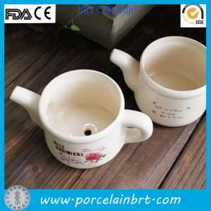 New Desgin Decoration Watering Can Ceramic Plant Pot pictures & photos
